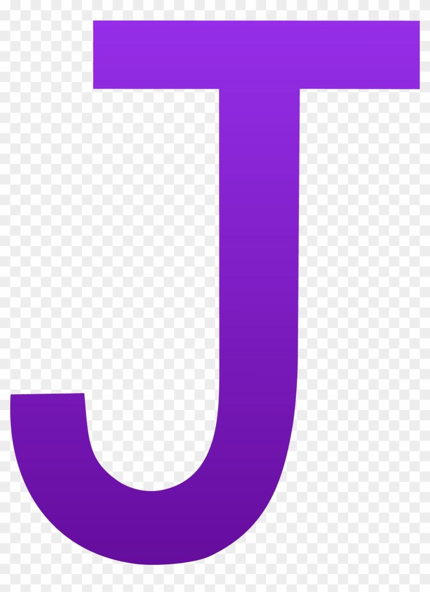 The Letter J - Letter J Clipart #128493
