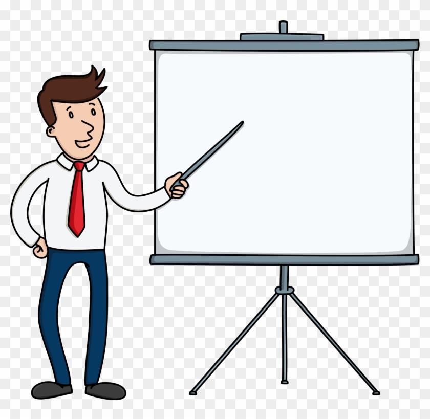 Open - Presentation Board Png #128495