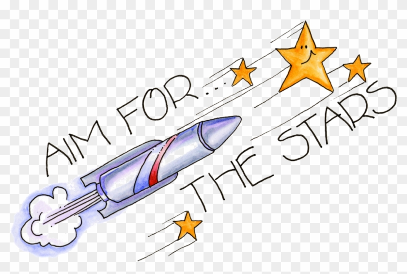 Aim For The Stars Clip Art - Great Job Clip Art #128772