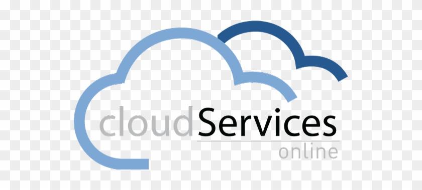 Cloud Services Online Logo - Cloud Services Logo Png #128886