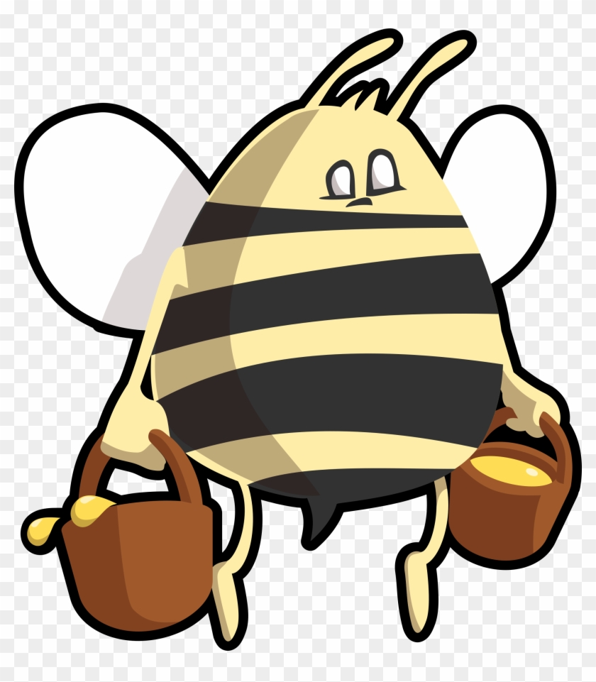Free Stock Photos - Bee Carrying Honey Shower Curtain #128902