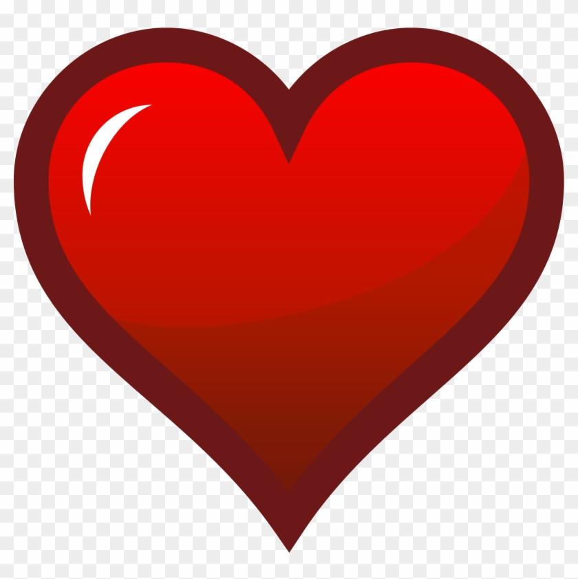 Free Stock Photos - Red Heart Icon #128923