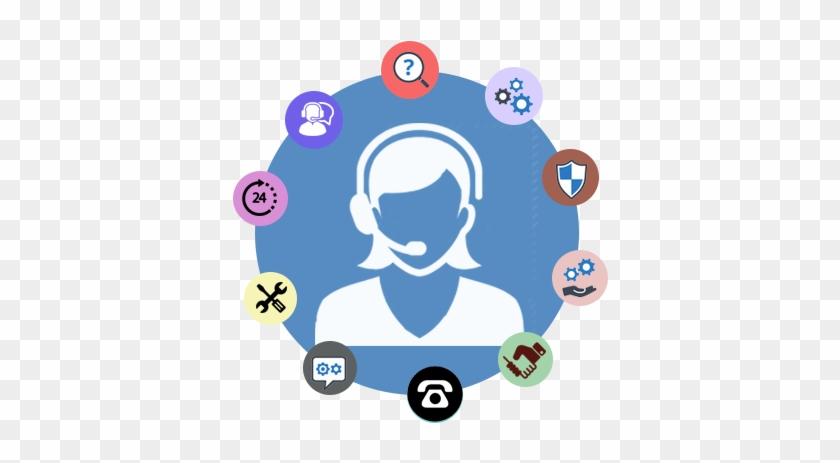 Microsoft Customer Service - Circle #128940