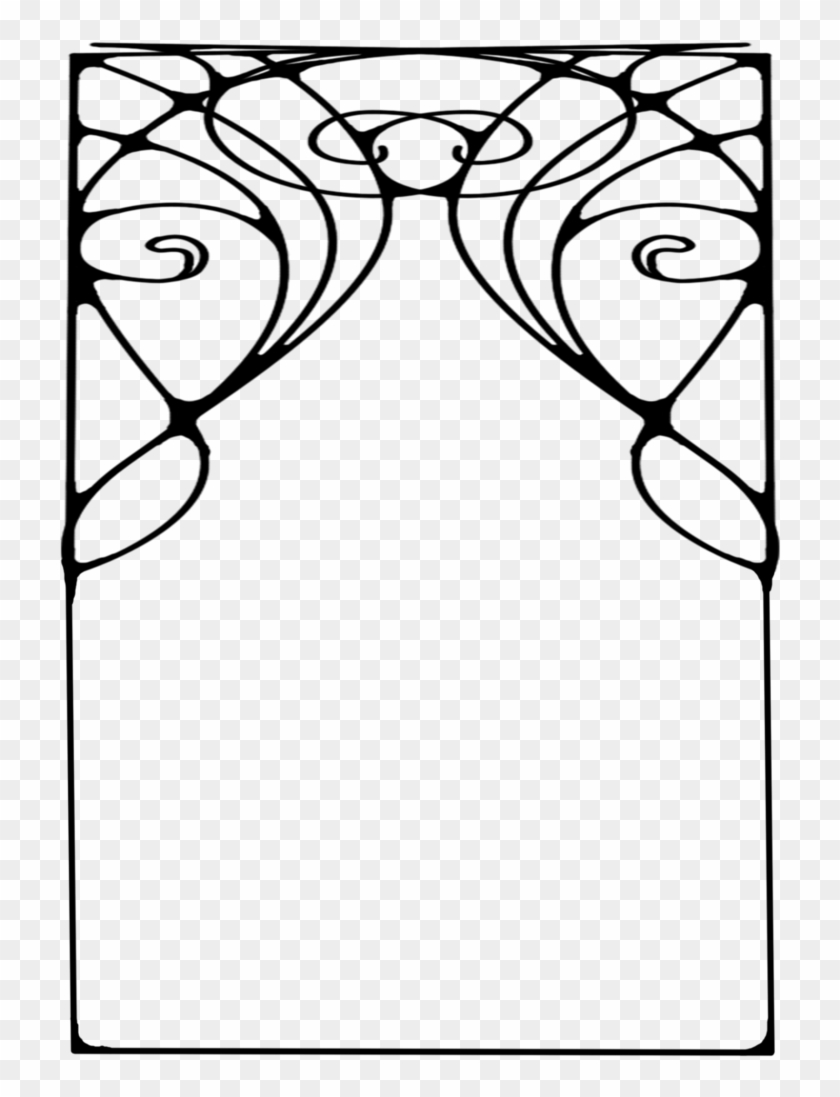 516 Nouveau Frame 04 By Tigers-stock On Clipart Library - Art Deco ...