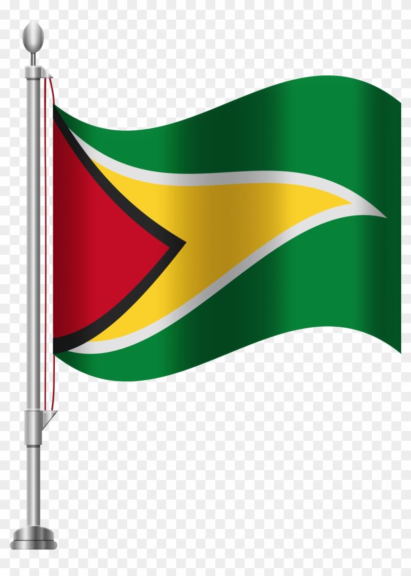 Guyana Flag Png Clip Art - Guyana Flag Png Clip Art #128982
