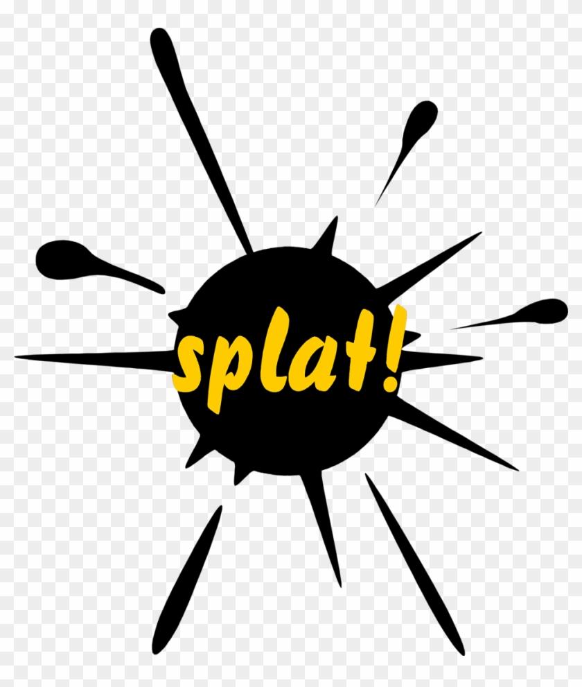 Splat Free Stock Photo Illustration Of A Paint Splatter - Mug #129008