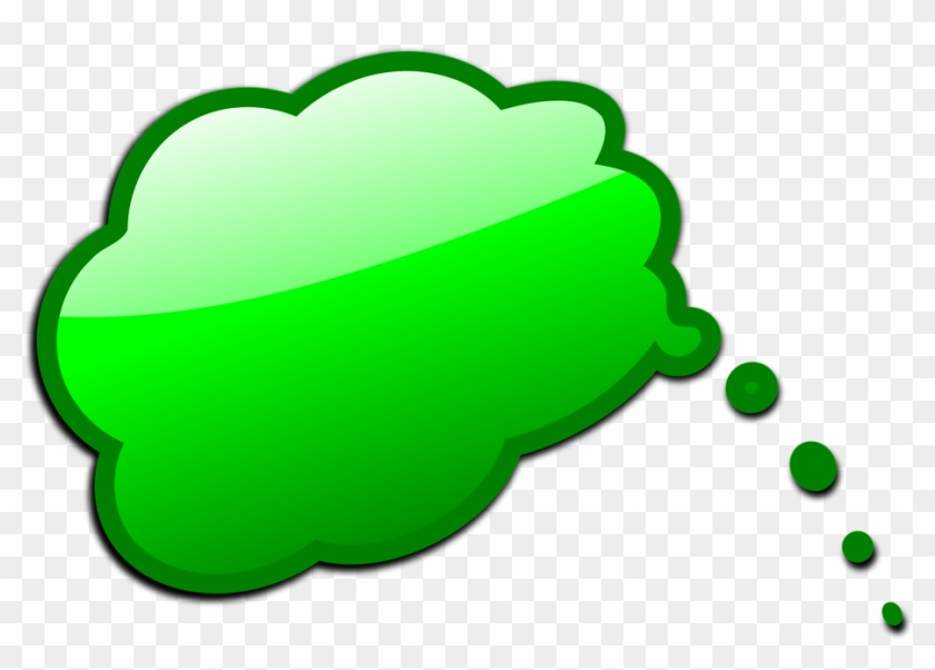 Free Stock Photos - Green Screen Thought Bubble #129028