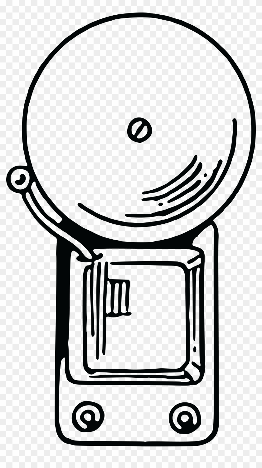 Free Clipart - School Bell Clipart Black And White #129141