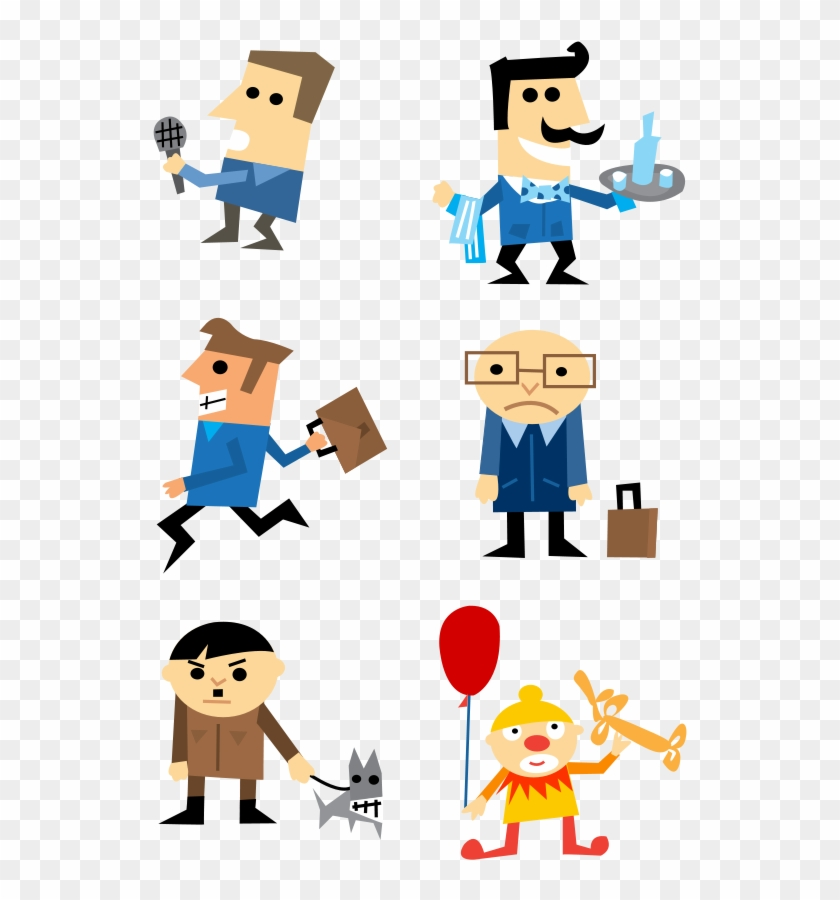 Free Clipart Of Cartoon Characters Character Download - Short History On Adolf Hitler #129194