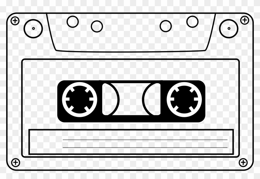 Cassette Tape Clip Art - Cassette Tape Throw Blanket #129224