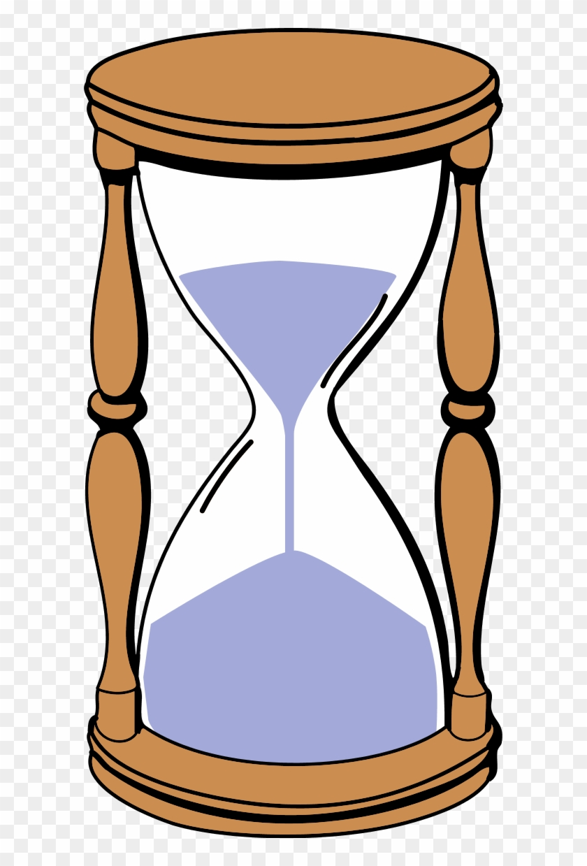Point Of Sale Machine Classic Old Cartoon - Sand Timer Clip Art #129324