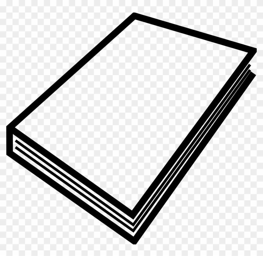 Old Book Clip Art - Closed Book Clipart #129400