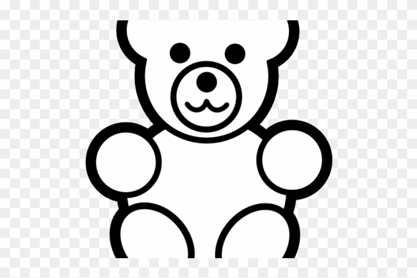 Teddy Bear Graphics Teddy Bear Coloring Page Free Transparent