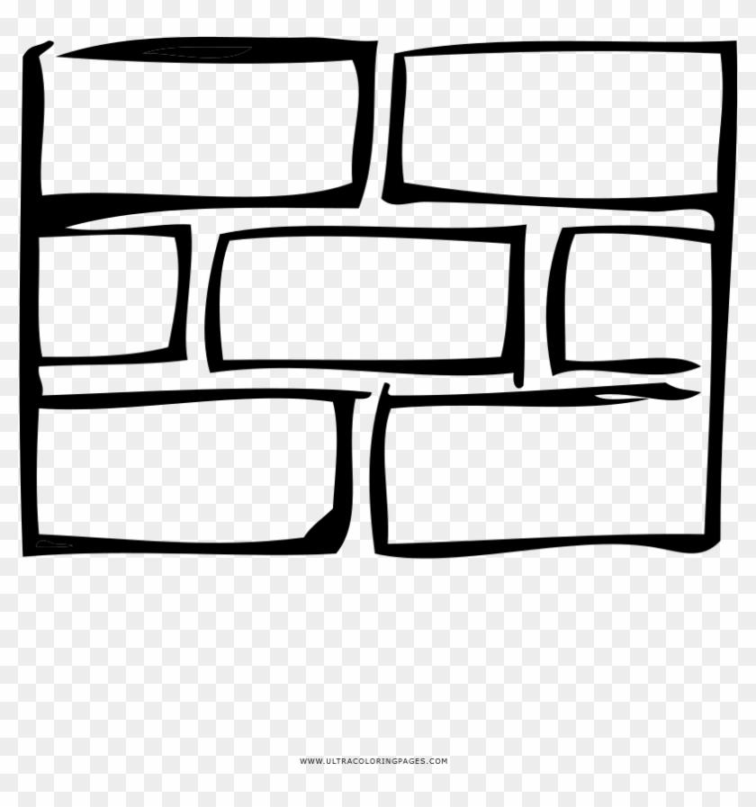 Brick Wall Coloring Page - Pared De Ladrillos Para Colorear - Free ...