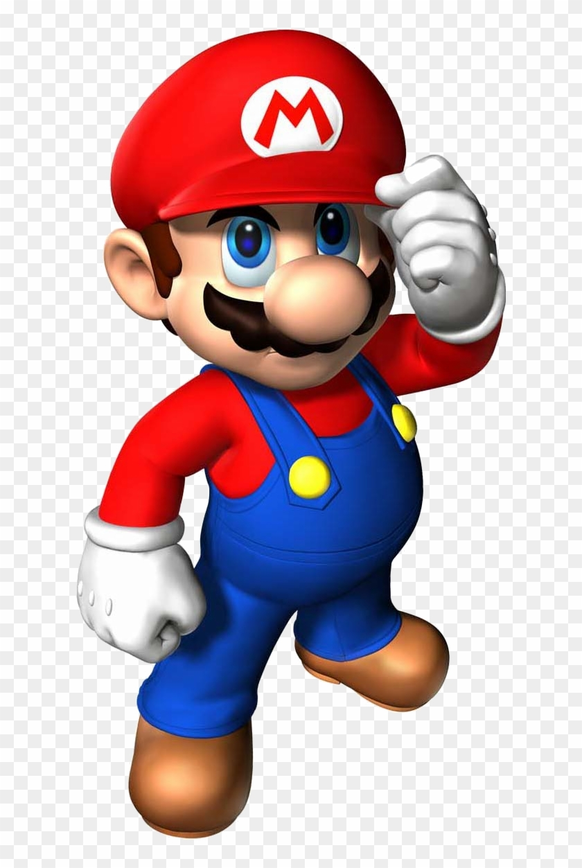 Mario - Super Mario 64 Render - Free Transparent PNG Clipart