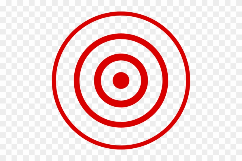 photo relating to Printable Bullseye Target named Printable Bullseye - Bulls Eye Png - No cost Clear PNG
