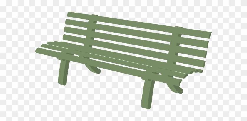 Park Bench Clipart #681397