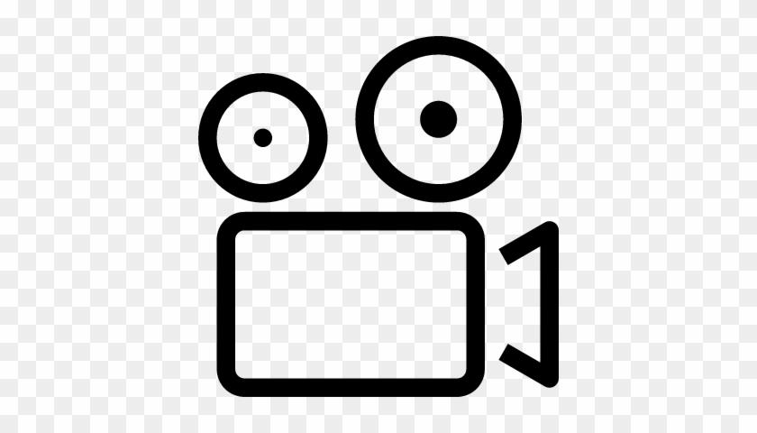 Video Camera Logo Download - Video Camera Outline - Free Transparent