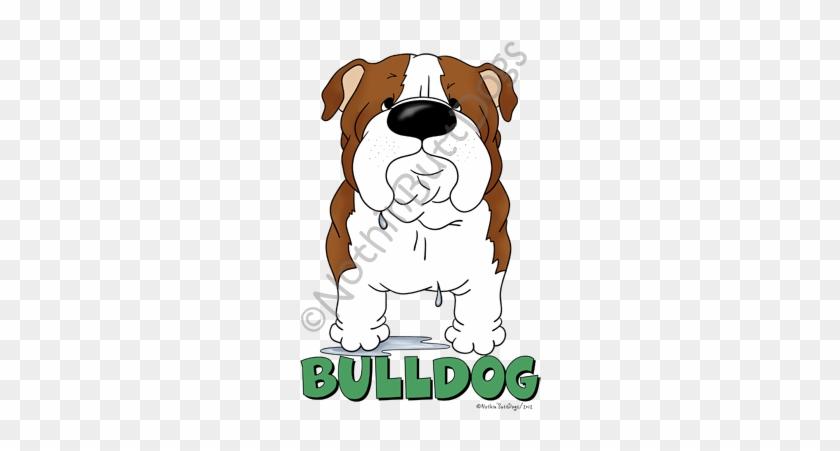 Big Nose Bulldog Dark Colored T-shirts - Big Nose Bulldog Bib #681805