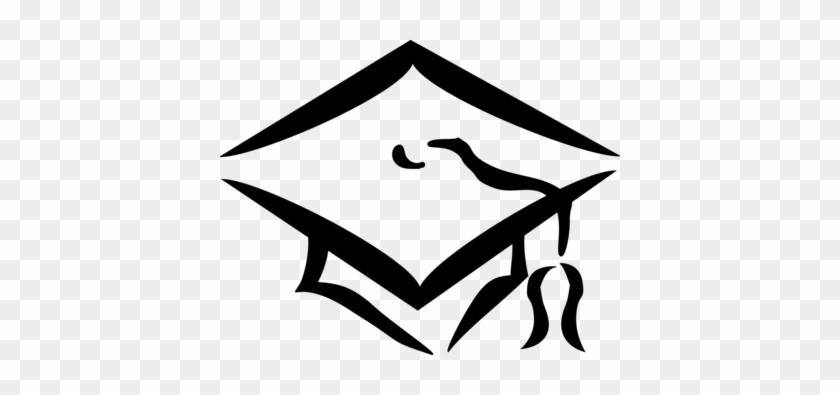 Illustration Of A Graduation Cap - Graduation Cap Clip Art #682073