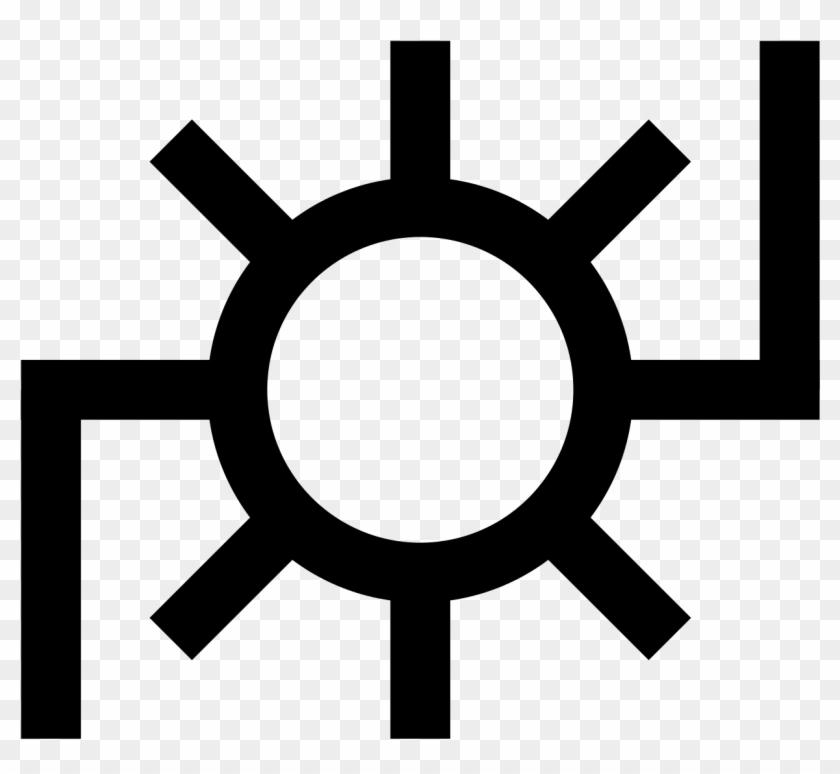 Japanese Map Symbol - Japanese Symbols Of Power #682187