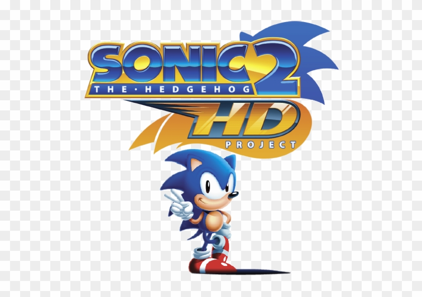 Sonic 2 Hd Alpha Release By Pooterman Sonic The Hedgehog 2 Hd Logo Free Transparent Png Clipart Images Download