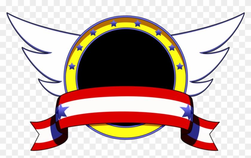 Sonic Title Emblem By Cornelious Raidon Sonic The Hedgehog Emblem Free Transparent Png Clipart Images Download