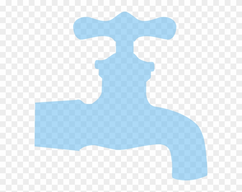 Blue Faucet Low Opacity Clip Art At Clker - Royalty-free #682481