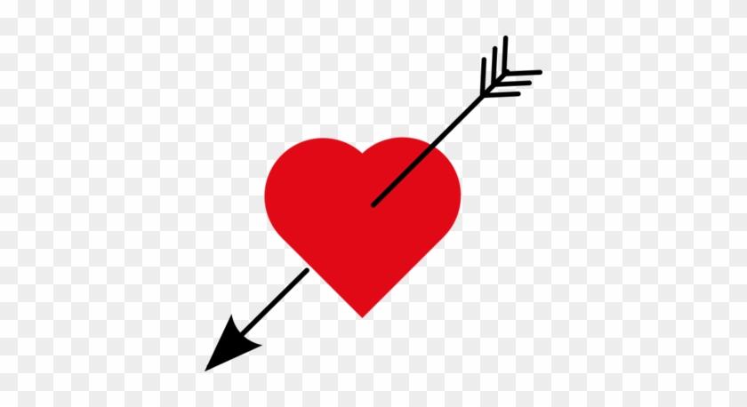 602px-love Heart With Arrow - Love Heart With Arrow #682556