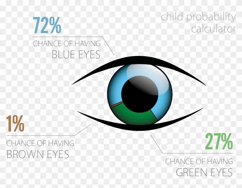 Chromo2 Blue Eyes Child Probability Calculator - Chance Of Having Blue Eyes #682785