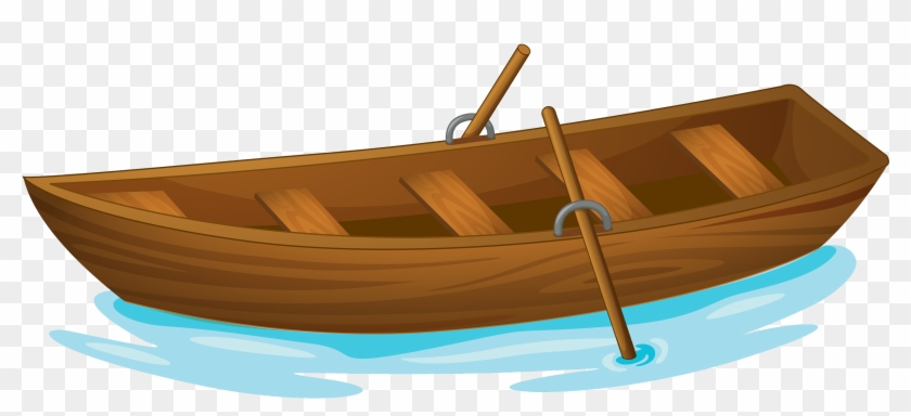 Rowing Boat Evezu0151s Csxf3nak Clip Art - Wooden Boat Clipart - Free  Transparent PNG Clipart Images Download