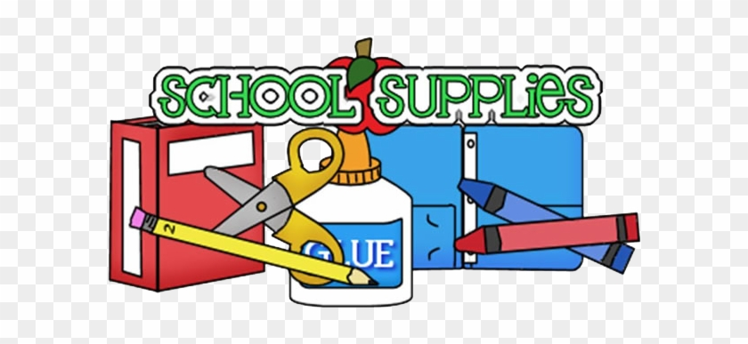 This Is The Image For The News Article Titled Updated - Free Clip Art School Supplies #684054
