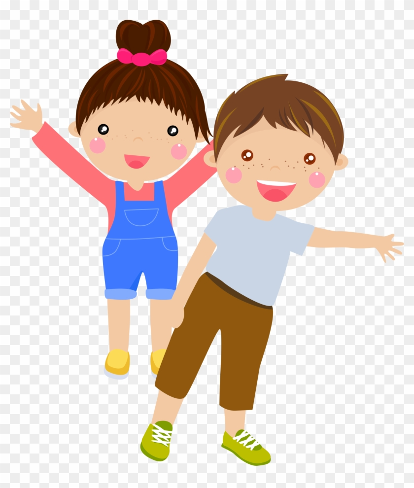 Child Cartoon Play Illustration - Student Cartoon Png #684364