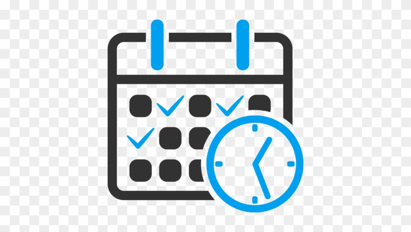 Book A Visit - Week Calendar Icon Png #685190