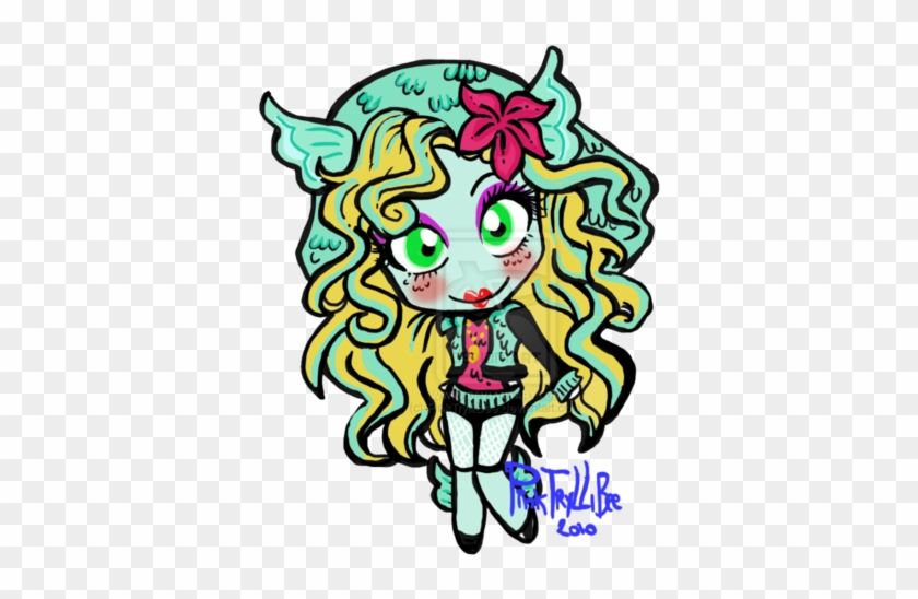 Monster High Wallpaper Possibly Containing Anime Entitled - Monster High Lagoona Blue #685308