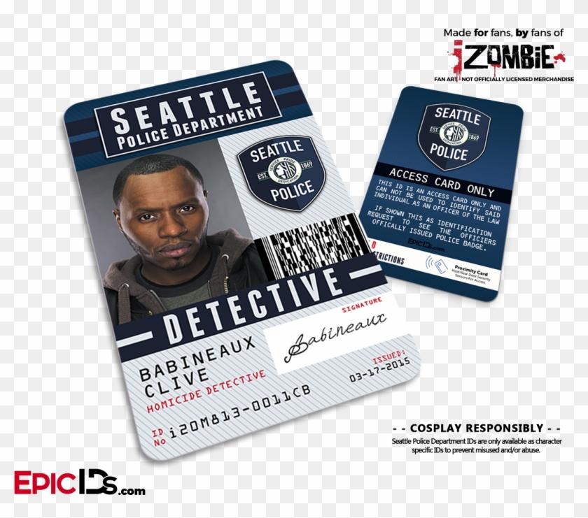 Seattle Police Department 'izombie' Homicide Detective