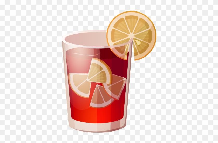 Iced Tea Lemon Tea - Cartoon Iced Tea #688425