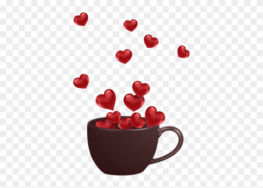 Cup Of Love Happy Valentine Coffee Gif Free Transparent Png