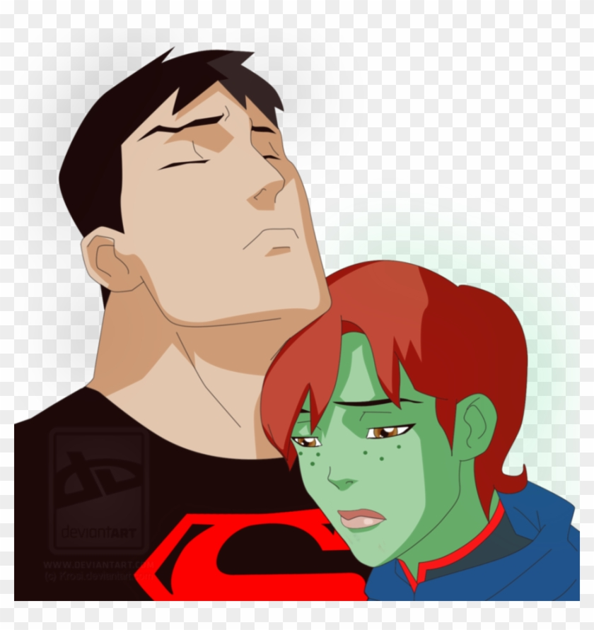 Sad Love Story By Krosi - Young Justice Megan And Superboy Sex