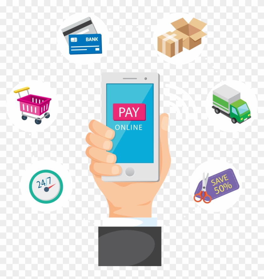 Digital Marketing E Commerce Payment System E Commerce - Infographic Mobile Payment 2017 #688859
