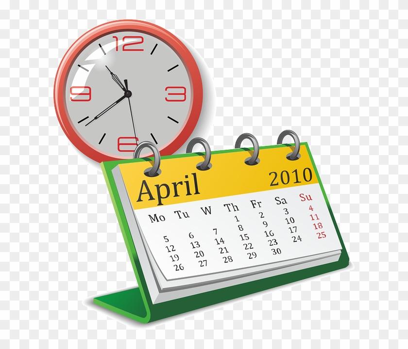 Hypnosis Certification Class - Calendar Clock Clip Art #688953