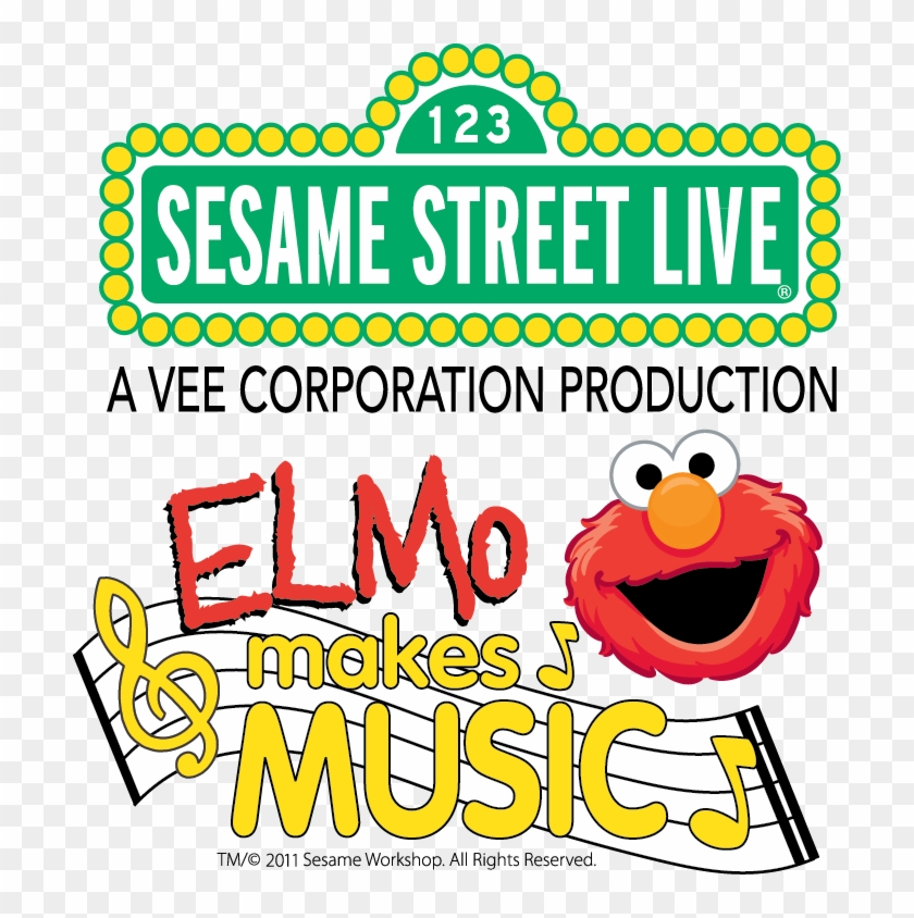 I Am So Excited That Sesame Street Live Is Coming To - Sesame Street Elmo Makes Music #689705