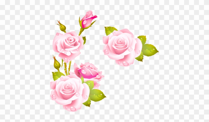 Soloveika Альбом «клипарт / Природа / Цветы / Розы» - 5d Diy Diamond Painting Cross Stitch Pink Rose Diamond #689752