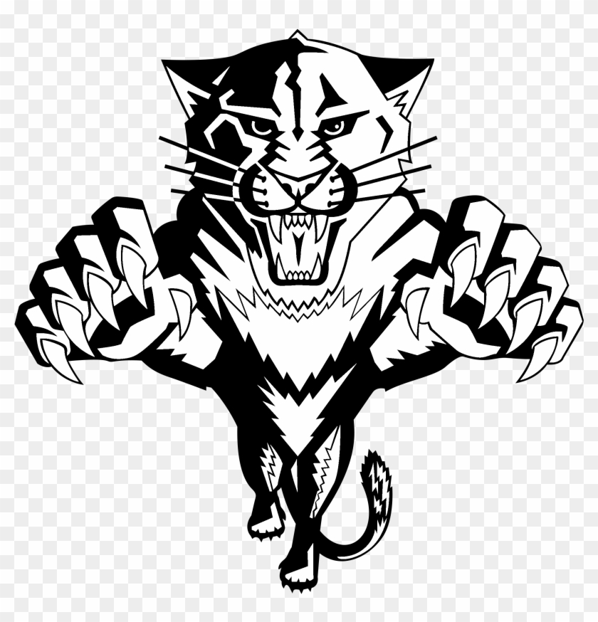 Florida Panthers Logo Black And White Florida Panthers Logo Black And White Free Transparent Png Clipart Images Download