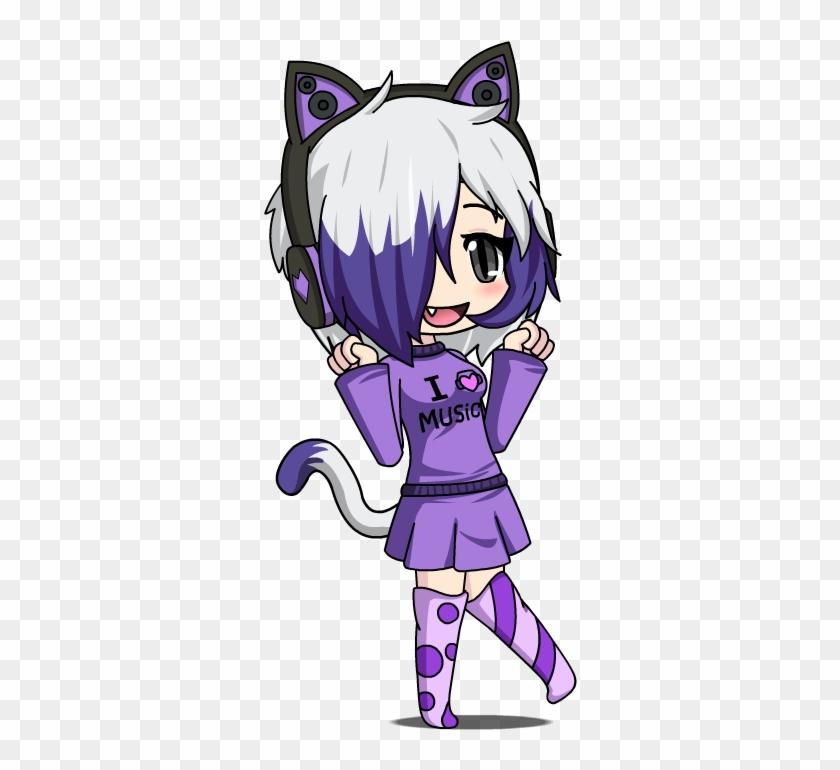 Anime Chibi Wolf Girl Roblox Download - Gacha Anime - Free