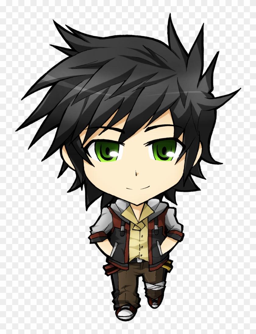 Anime Wolf Boy Chibi Cute