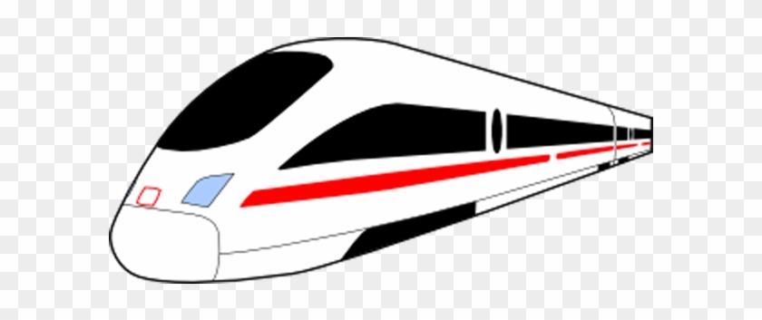 Train Rail Transport Rapid Transit Steam Locomotive - Train Clip Art #691362