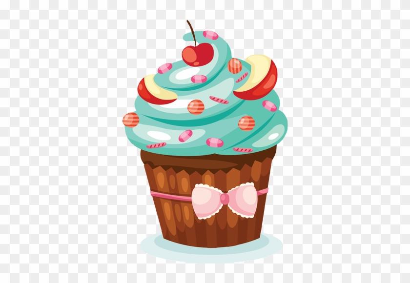 my Vintage Cupcake Art Print by Hi-deer | Society6 | Cupcake art print,  Cupcake art, Vintage cupcake