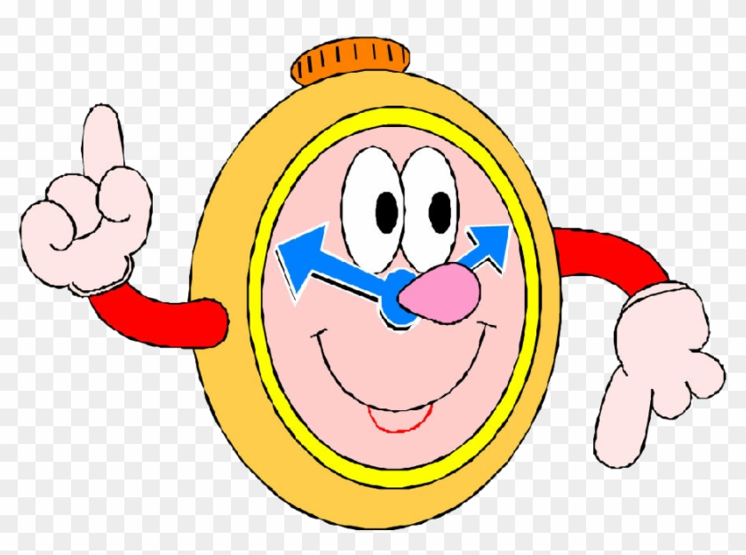 Cartoon Watch Drawing Clip Art - Arrival Time At School #693169