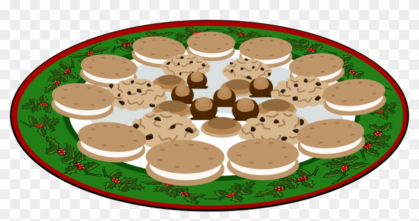 Plate Of Christmas Cookies Clip Art Plate Of Cookies Clipart Png